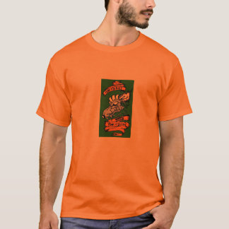 CRRFC Orange Whips - Customized T-Shirt