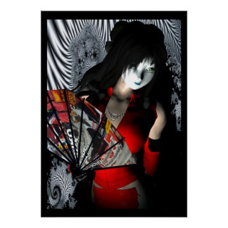 CRTN Geisha Poster
