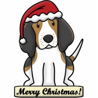 Crtn Treeing Walker Coonhound Christmas Ornament Photo Sculpture Ornament
