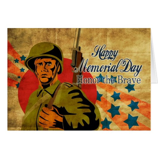 Cru américain de soldat de la deuxième guerre mond carte de vœux