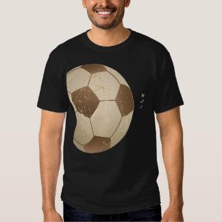 cru de ballon de football t-shirt
