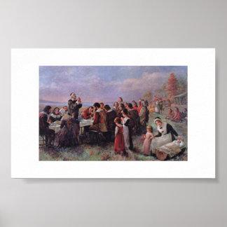 Cru de Brownscombe de thanksgiving Poster