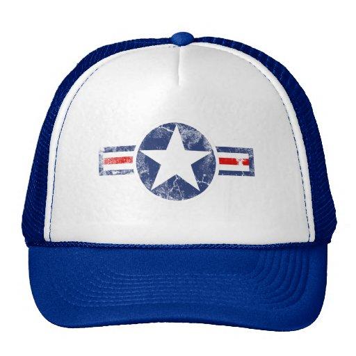 Cru de corps d'air d'armée casquette de camionneur