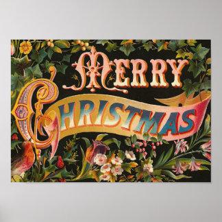 "Cru de ""Joyeux Noël"" Posters"