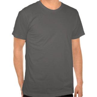 Cru gris des textes âgé au T-shirt de perfection