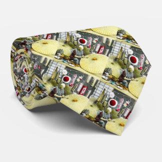 Cru japonais de no. 2 de fabricant de parapluie cravate