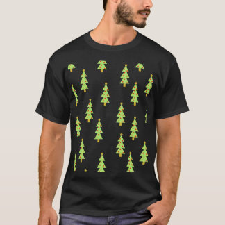 cru moderne de la moitié du siècle de motif t-shirt