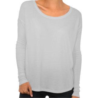 cru noir de jonquille de fleurs blanches t-shirt