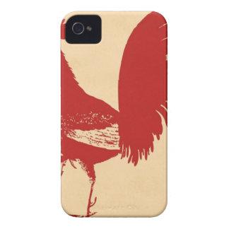 cru-rouge-coq--SUR TOUS LES ARTICLES Coque iPhone 4 Case-Mate