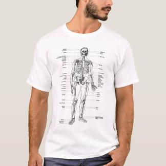 Cru - squelette marqué t-shirt