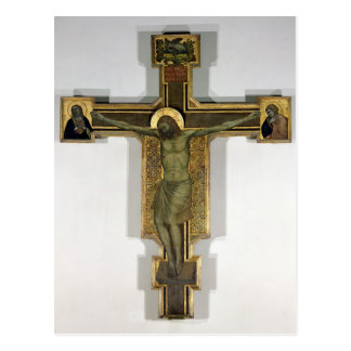 Crucifix 2 postcard
