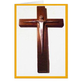 Crucifix of the Risen Christ Card