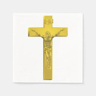Crucifix Paper Napkins