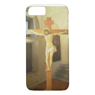 Crucifix (tempera on wood) iPhone 7 case