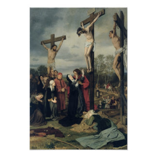 Crucifixion, 1873 poster