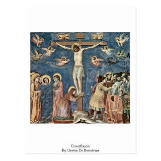 Crucifixion By Giotto Di Bondone Postcard