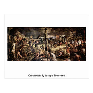 Crucifixion By Jacopo Tintoretto Postcard