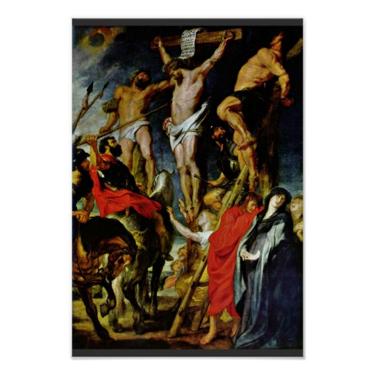 Crucifixion By Rubens Peter Paul (Best Quality) Poster