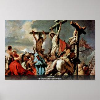 Crucifixion By Tiepolo Giovanni Battista Poster