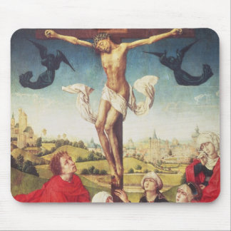 Crucifixion, c.1510 (oil on panel) mouse pad