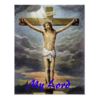 Crucifixion Jesus Religious Print