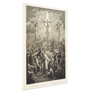 Crucifixion of Christ die Kreuzigung Jesu Christi Canvas Print