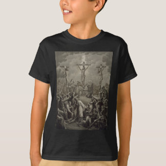Crucifixion of Christ die Kreuzigung Jesu Christi T-Shirt