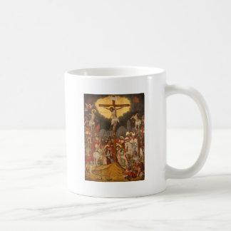Crucifixion  Scene 1711 Coffee Mug
