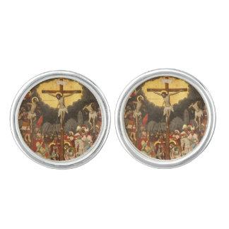 Crucifixion  Scene 1711 Cuff Links