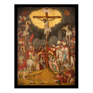Crucifixion  Scene 1711 Postcard