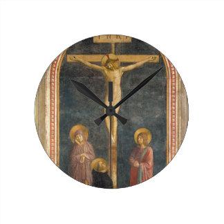 Crucifixion with the Virgin, SS. John the Evangeli Wall Clocks