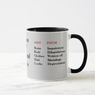 Cruel but Funny Personalisable Birthday Gift Mug
