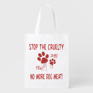 """""""Cruelty Free For Our Friends"""" Shopping Tote"""