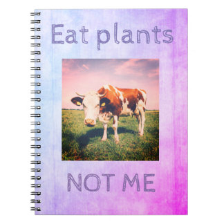 Cruelty free NOTEBOOK for vegan, vegetarian