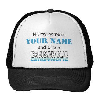 Cruisaholic (Personalized) Trucker Hat