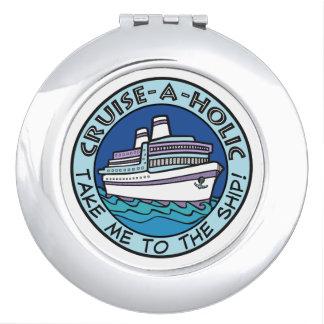 Cruise-A-Holic pocket mirror Compact Mirrors