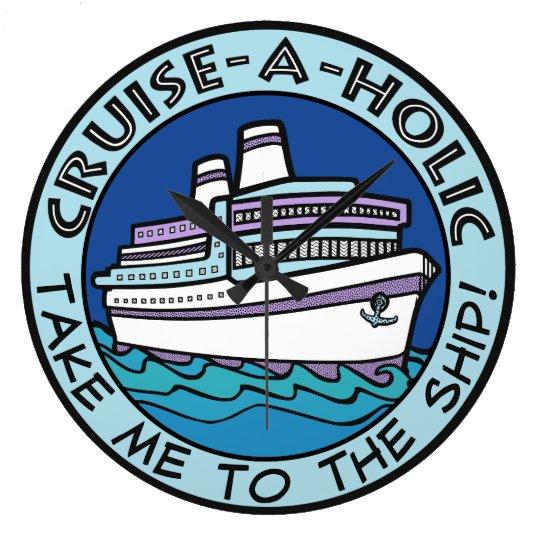Cruise-A-Holic wall clock
