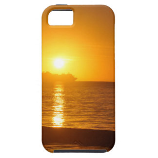 Cruise at sunset iPhone 5 covers