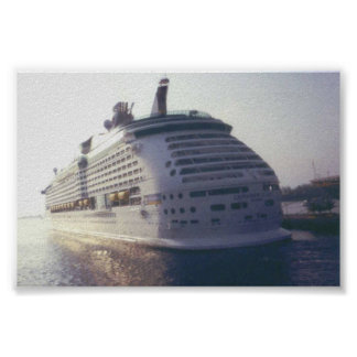 Cruise Boat Poster