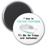 Cruise Control 2 Inch Round Magnet