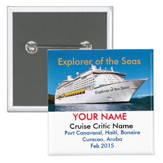 Cruise Critic Meet and Mingle Badge Button