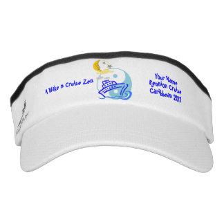 Cruise Custom Knit Visor / White