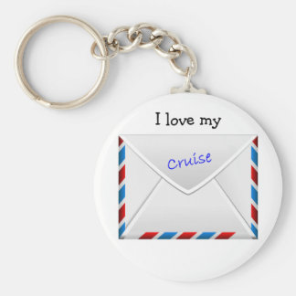 Cruise Envelope Keychain