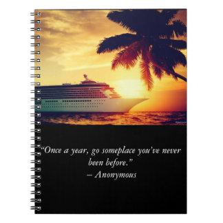 Cruise Journal Spiral Notebooks