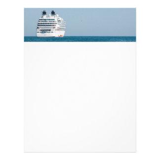 Cruise liner letterhead