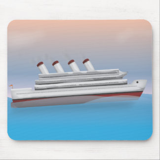 Cruise Liner Mouse Pad
