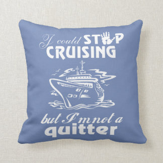 Cruise Lovers Throw Pillow