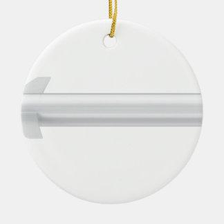 Cruise missile ceramic ornament