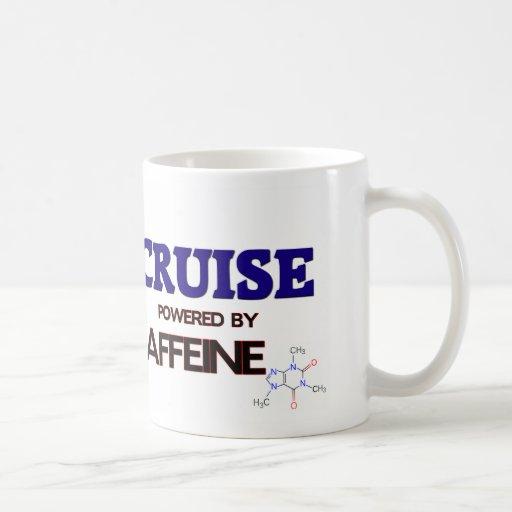 Cruise powered by caffeine coffee mugs