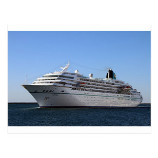 Cruise ship 20 postcard